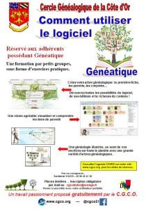 Formation généalogie 21 cote d'or